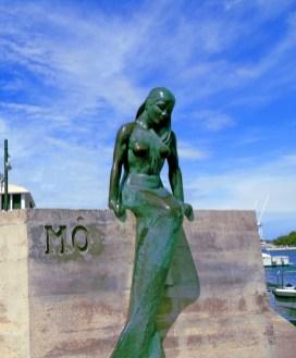 Mermaid sculpture at Mahon
