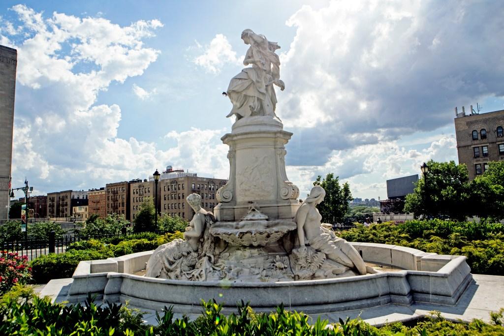The Heinrich Heine Lorelei Fountain