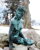 Greenville's Flat River Mermaid.