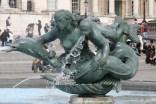 Trafalgar Square Mermaid sculpture.