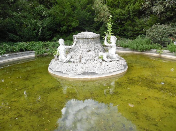 Halton House Mermaid Fountain. Photo © David Hillas