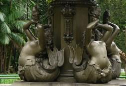 The Belém Mermaid Fountain.
