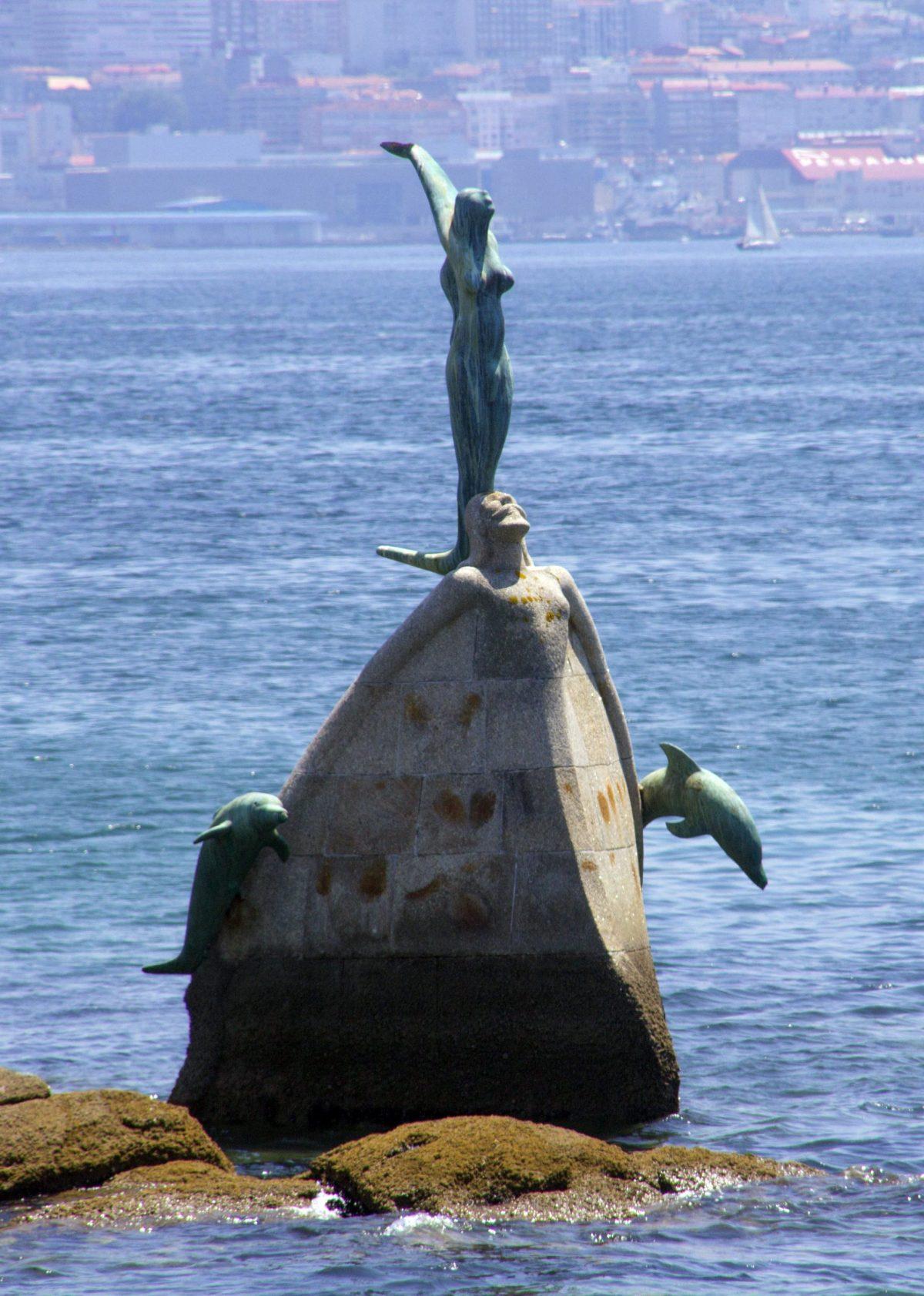 La Sirenita de Cangas