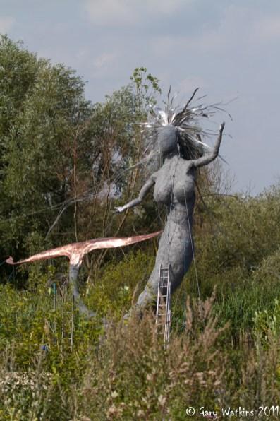Dartford Mermaid Statue