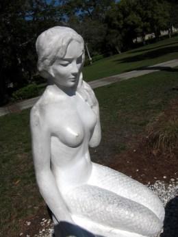 Mermaids Sculpture at Weeki Wachee