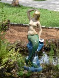 Weeki Wachee Mermaid Sculpture