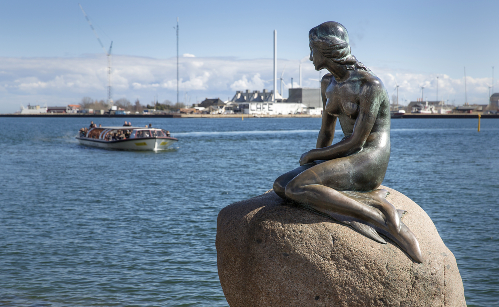 Image result for the mermaid in copenhagen