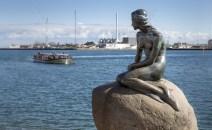The Little Mermaid Statue in Copenhagen
