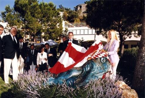 Ange de Mers mermaid statue