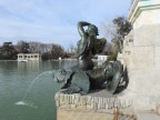 Retiro Park Conch mermaid.