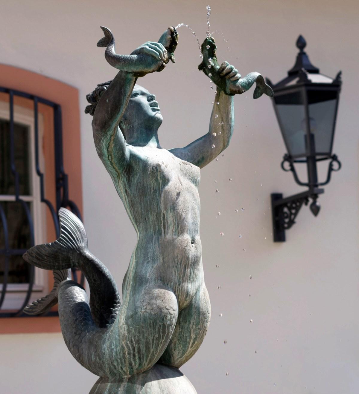Mainz Mermaid sculpture