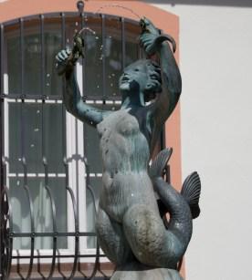 Mermaid Statue in Mainz, Germany. Photo © Svenya Thundiyil