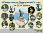 The Little Mermaid Centennial Commemorative 2014 Calendar