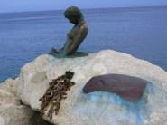 Penelope of Senigallia mermaid statue