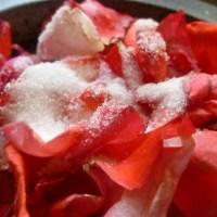 Rose petal jam (uncooked)