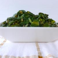 Spinach (silverbeet) curry