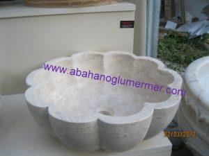 papatya modeli lavabo em-040 ölçüleri : 42x15 cm fiyatı : 650 tl