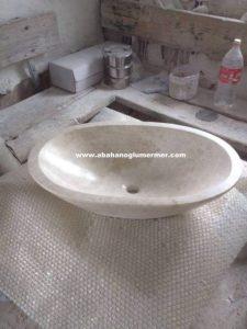 bej evye çanak lavabo em-085 ölçüleri : 40x55x15 cm fiyatı : 750 tl