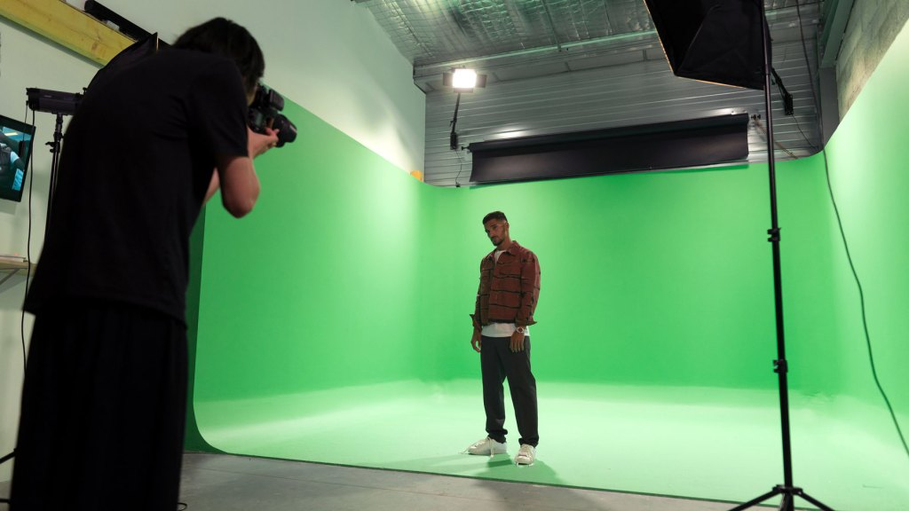 studio fond vert lyon
