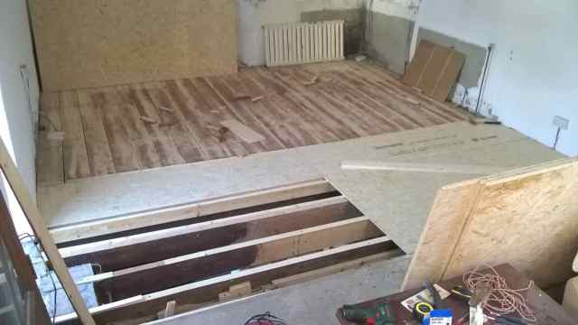 floor levelling the Mill House