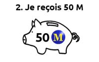monnaieM 50M