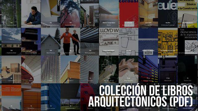 Colección libros arquitectura banner