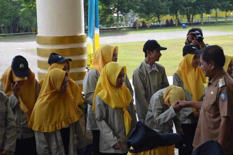 Bupati Soppeng Lepas Mahasiswa KKLP STIE-STMIK Lamappapoleonro