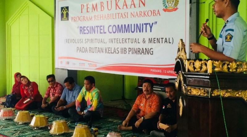 Kepala Rutan Pinrang Gelar Rehabilitasi Narkoba