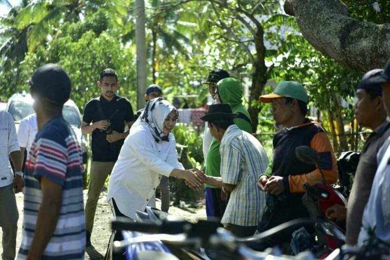 Cabup FATMA Kunjungi Korban Puting Beliung di Lasiwala