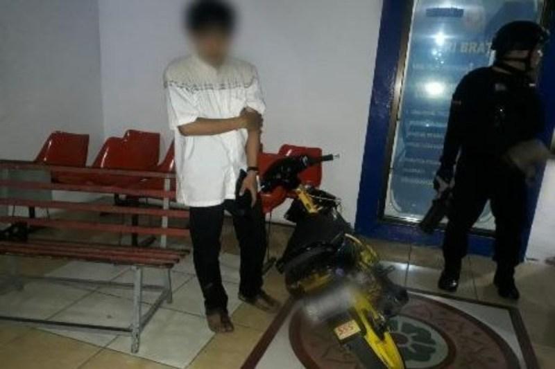 Polrestabes Makassar Amankan Pelaku Balap Liar
