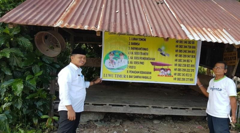 Pemerintah Kelurahan Tomoni Luncurkan Layanan Aduan Hotline