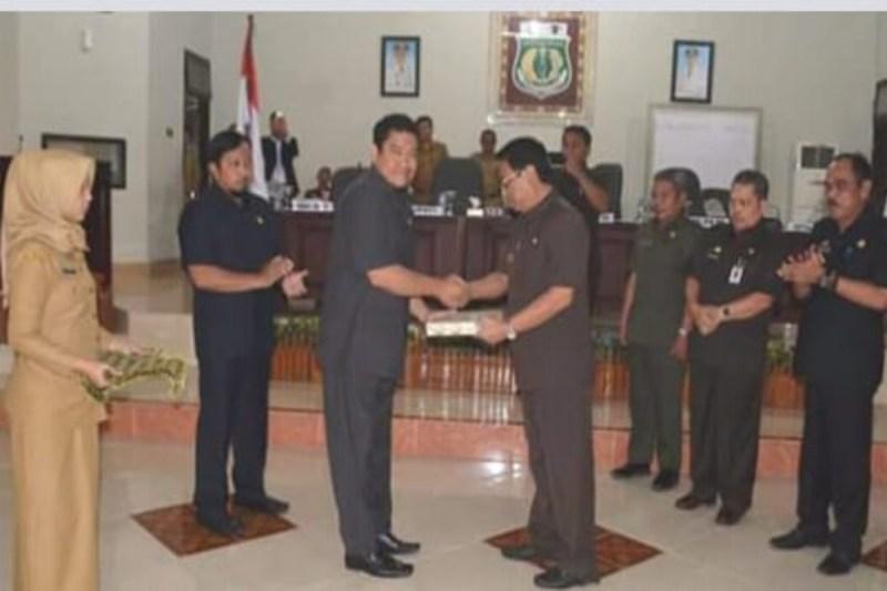 DPRD Pinrang Setuju Bahas Ranperda PJP APBD TA 2017