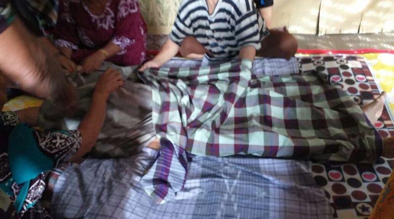 Diduga Terpeleset ditangga Saat Banjir, Seorang IRT di Desa Mattombong Tewas dikolom Rumahnya