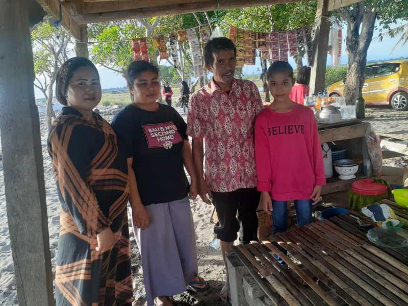 Pantai Wae Tuoe Pinrang Tidak Seindah Dulu, Kini Memprihatinkan...
