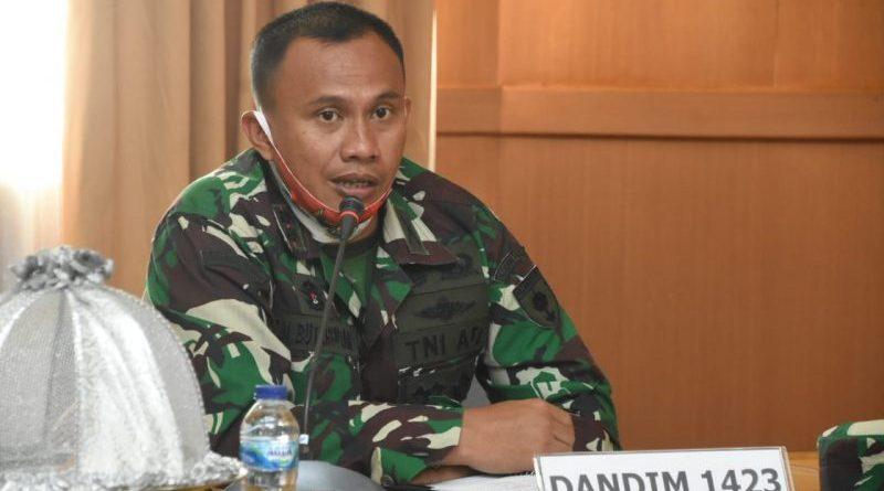 Dandim 1423 La Temmamala Soppeng : TNI akan Memback up Polri, Penegakan Yustisi