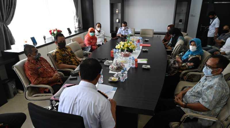 Berbagi Informasi Seputar Tambahan Penghasilan Pegawai, Pejabat Kabupaten Wajo Berkunjung ke Sidrap