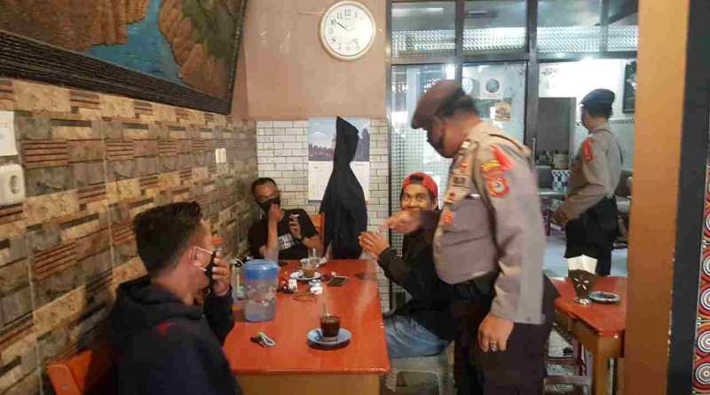 Warkop dan Kantor Pelayanan Publik Jadi Sasaran Operasi Yustisi Polres Soppeng