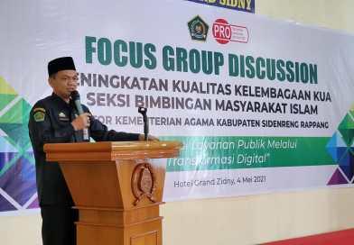 Bimas Islam Kemenag Sidrap Gelar FGD, Ini Tujuannya