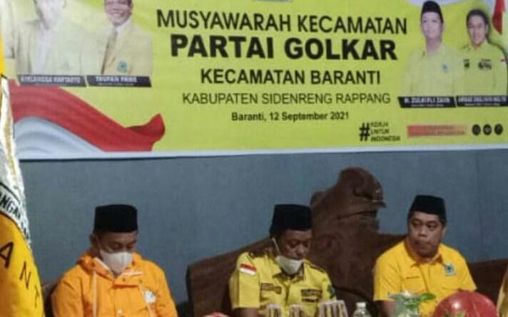 Sufyanto Alwi Pimpin Golkar Baranti Sidrap, Rusman Katoe Jadi Ketua Bappilu