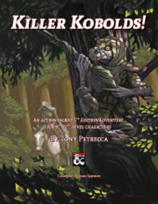5E Adventure Review: Killer Kobolds – Merric's Musings