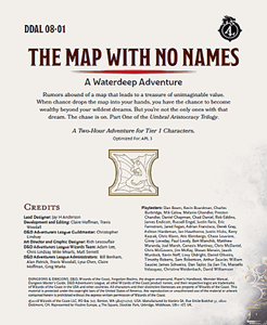 5E Adventure Review: The Map with No Names – Merric's Musings