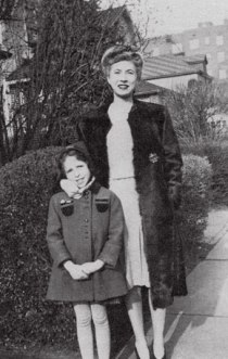Merrill with Aunt Greta, Brooklyn, 1944
