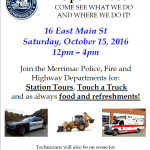 Merrimac Police to Hold Open House Next Weekend