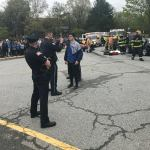 Photos: West Newbury, Groveland and Merrimac Officials Conduct Mock Fatal Car Crash for Students