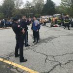 Photos: West Newbury, Groveland and Merrimac Officials Conduct Mock Fatal Car Crash for Students
