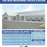 Merrimac Residents Invited to Attend Public Forum On New Police Station Proposal on Sept. 26