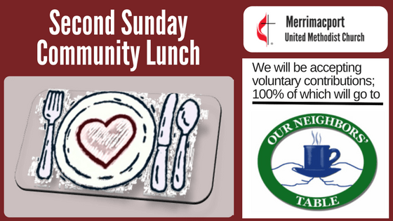 Second Sunday Community Lunch