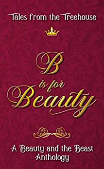 Book cover with scroll font. B is for Beauty