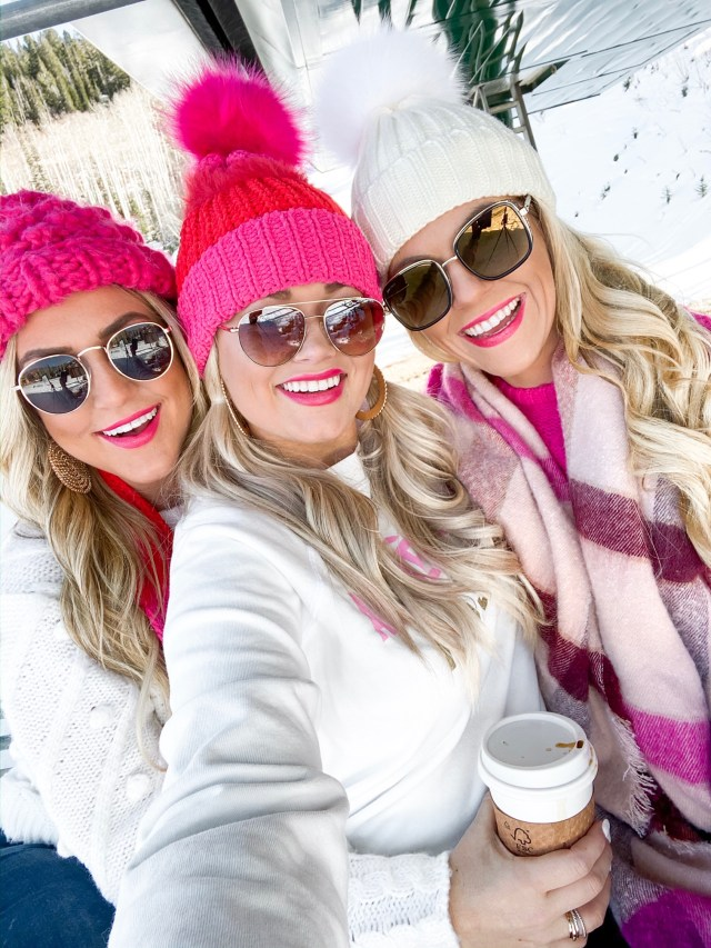 winter bestie outfits