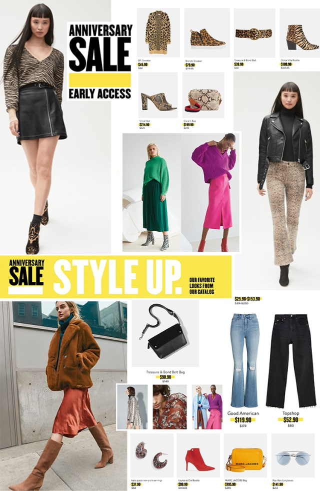 NORDSTROM EARLY ACCESS SALE, ANNIVERSARY SALE